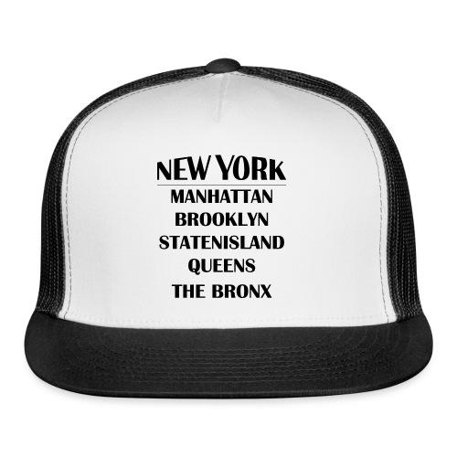 Boroughs of New York City - Trucker Cap