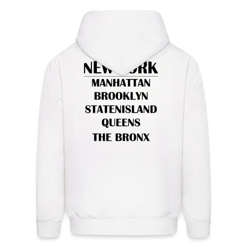 Boroughs of New York City - Men's Hoodie