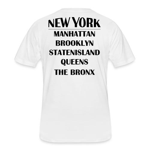 Boroughs of New York City - Men's 50/50 T-Shirt