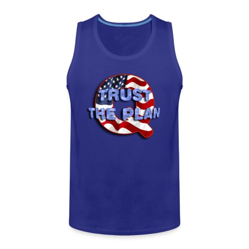 Q TRUST THE PLAN - Men's Premium Tank