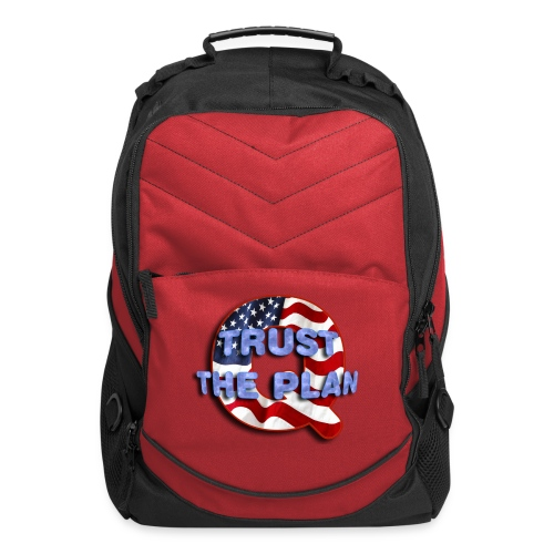 Q TRUST THE PLAN - Computer Backpack