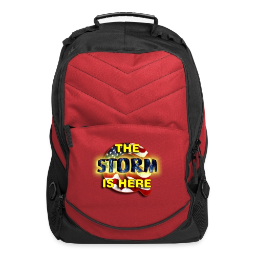 Q THE STORM IS HERE - Computer Backpack