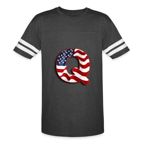 Q SHIRT - Vintage Sport T-Shirt