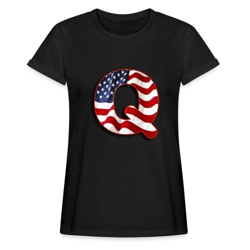 Q SHIRT - Women's Relaxed Fit T-Shirt