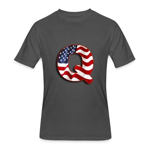 Q SHIRT - Men's 50/50 T-Shirt