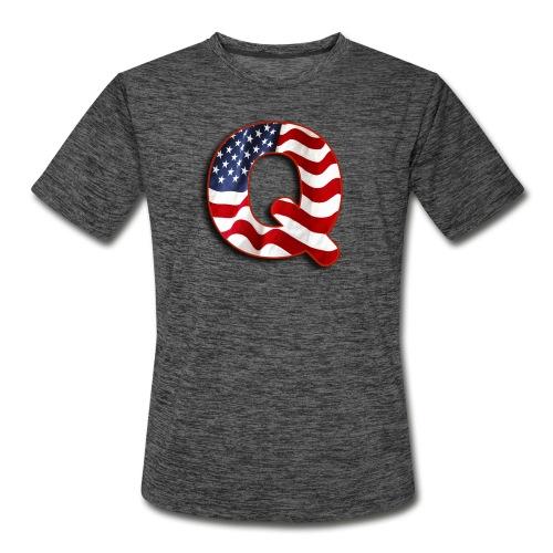 Q SHIRT - Men's Moisture Wicking Performance T-Shirt