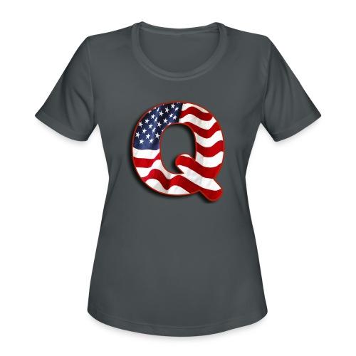 Q SHIRT - Women's Moisture Wicking Performance T-Shirt