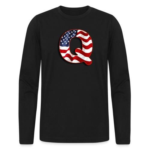 Q SHIRT - Men's Long Sleeve T-Shirt by Next Level