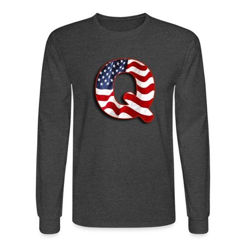 Q SHIRT - Men's Long Sleeve T-Shirt