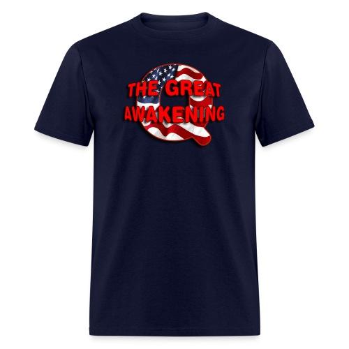 Q THE GREAT AWAKENING - Men's T-Shirt