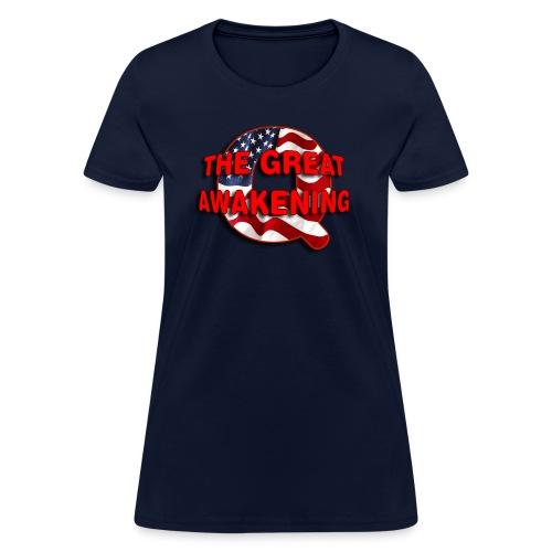 Q THE GREAT AWAKENING - Women's T-Shirt