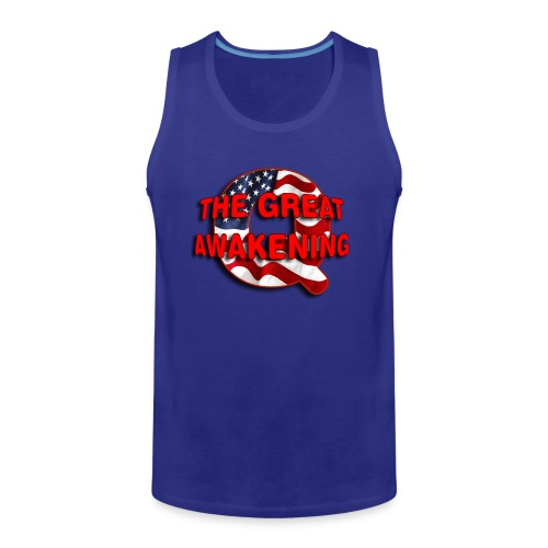 Q THE GREAT AWAKENING - Men's Premium Tank