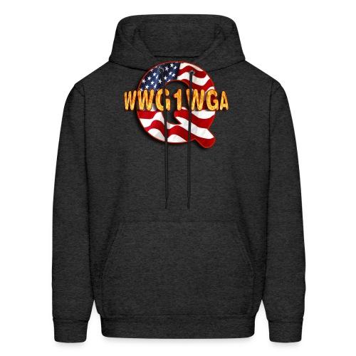 Q WWG1WGA - Men's Hoodie