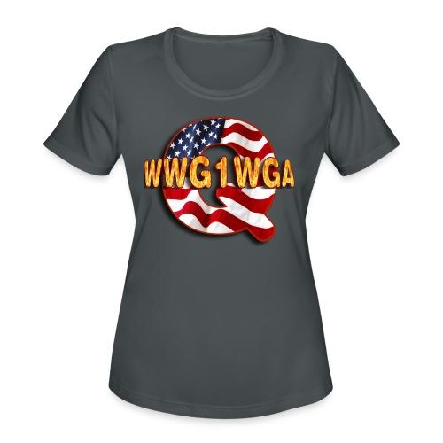 Q WWG1WGA - Women's Moisture Wicking Performance T-Shirt