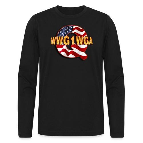 Q WWG1WGA - Men's Long Sleeve T-Shirt by Next Level