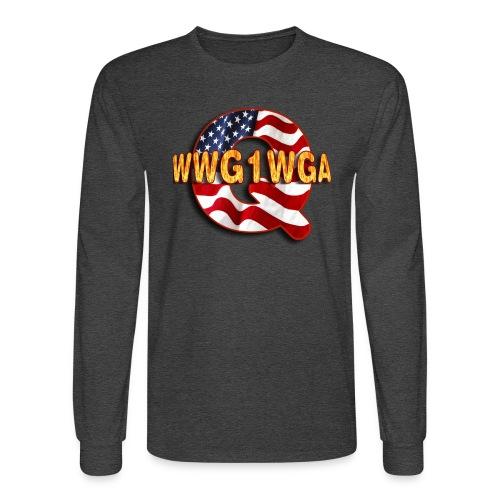 Q WWG1WGA - Men's Long Sleeve T-Shirt