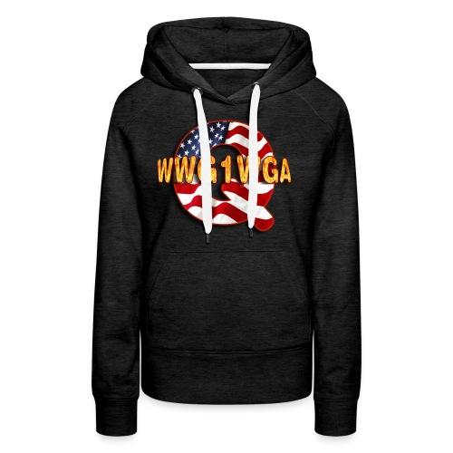 Q WWG1WGA - Women's Premium Hoodie