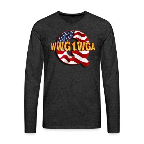 Q WWG1WGA - Men's Premium Long Sleeve T-Shirt