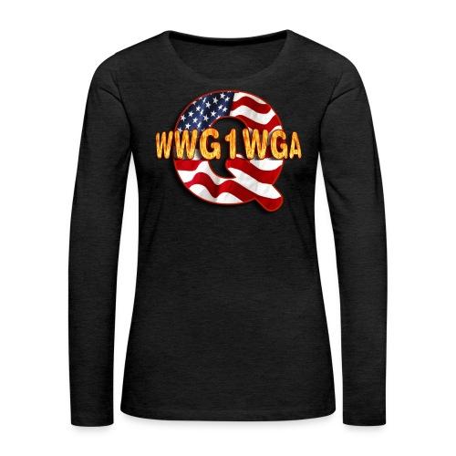 Q WWG1WGA - Women's Premium Long Sleeve T-Shirt
