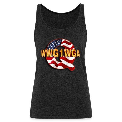 Q WWG1WGA - Women's Premium Tank Top