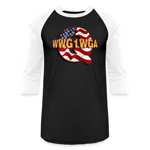 Q WWG1WGA - Baseball T-Shirt
