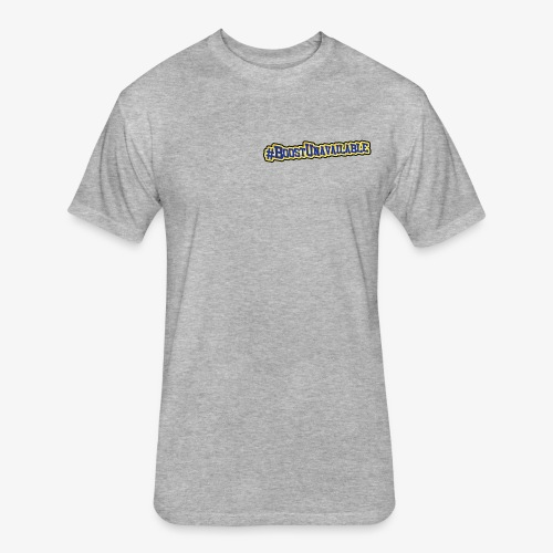 Corvette Drift - Fitted Cotton/Poly T-Shirt by Next Level