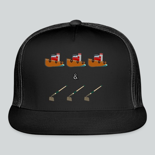 Boats and Hoes - Trucker Cap