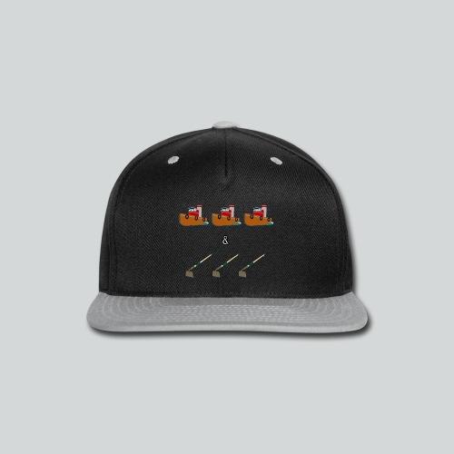 Boats and Hoes - Snap-back Baseball Cap