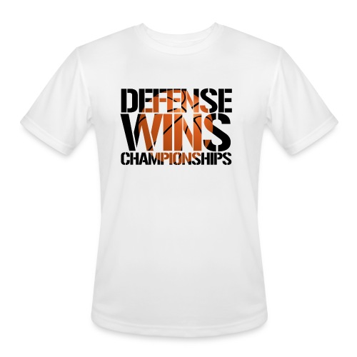 Defense Wins Championships Basketball - Men's Moisture Wicking Performance T-Shirt