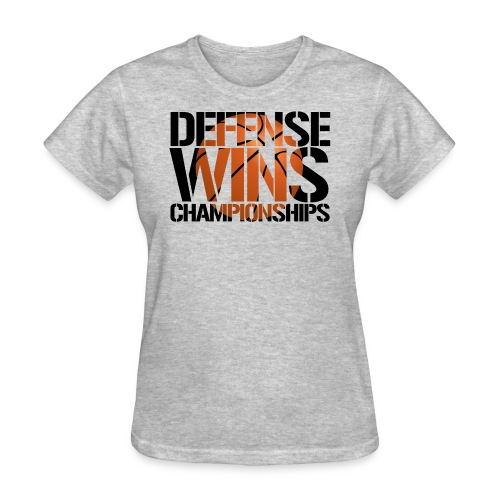 Defense Wins Championships Basketball - Women's T-Shirt