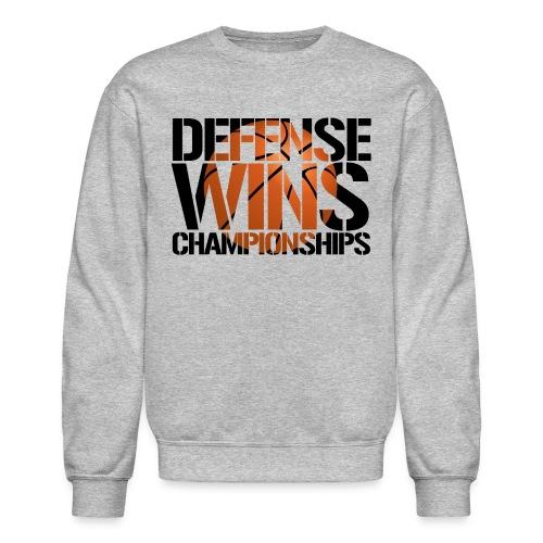 Defense Wins Championships Basketball - Crewneck Sweatshirt
