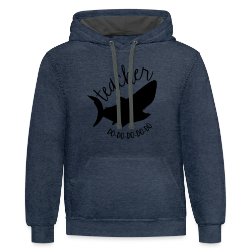 Teacher Shark Do-Do-Do-Do-Do - Contrast Hoodie