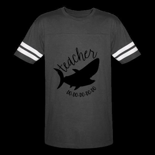 Teacher Shark Do-Do-Do-Do-Do - Vintage Sport T-Shirt