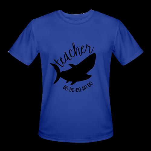 Teacher Shark Do-Do-Do-Do-Do - Men's Moisture Wicking Performance T-Shirt
