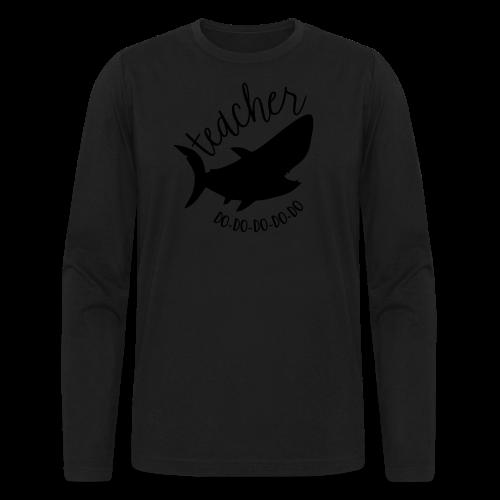 Teacher Shark Do-Do-Do-Do-Do - Men's Long Sleeve T-Shirt by Next Level