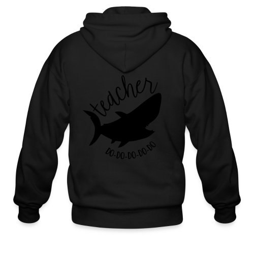 Teacher Shark Do-Do-Do-Do-Do - Men's Zip Hoodie