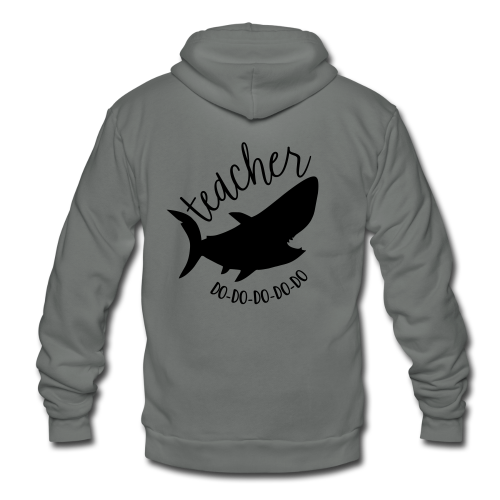 Teacher Shark Do-Do-Do-Do-Do - Unisex Fleece Zip Hoodie