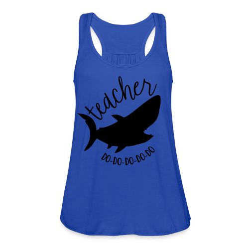 Teacher Shark Do-Do-Do-Do-Do - Women's Flowy Tank Top by Bella