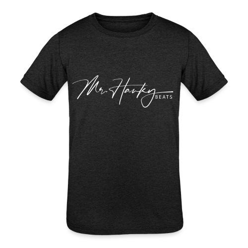 Mr Hanky Signature Hoodie - Kids' Tri-Blend T-Shirt