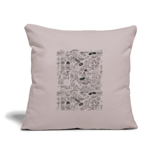 """Throw Pillow Cover 18"""" x 18"""""""