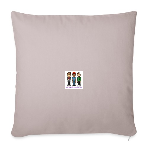 Throw Pillow Cover - Fill it with liquids!