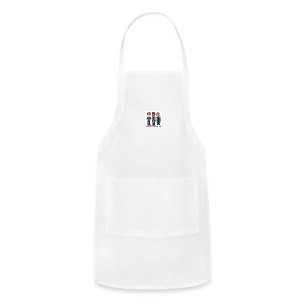 Adjustable Apron - Fill it with liquids!