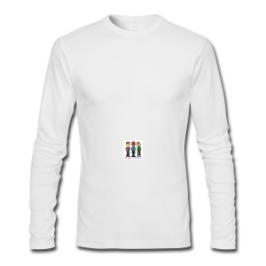 Men's Long Sleeve T-Shirt by Next Level - Fill it with liquids!