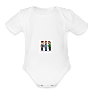 Short Sleeve Baby Bodysuit - Fill it with liquids!
