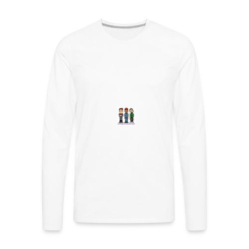 Men's Premium Long Sleeve T-Shirt - Fill it with liquids!