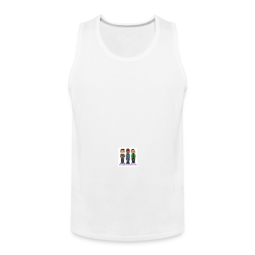 Men's Premium Tank - Fill it with liquids!