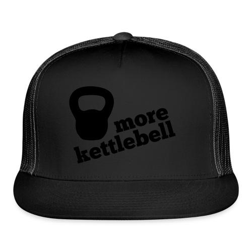 More Kettlebell - Black - Trucker Cap