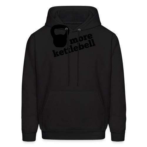 More Kettlebell - Black - Men's Hoodie