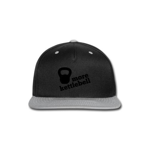 More Kettlebell - Black - Snap-back Baseball Cap