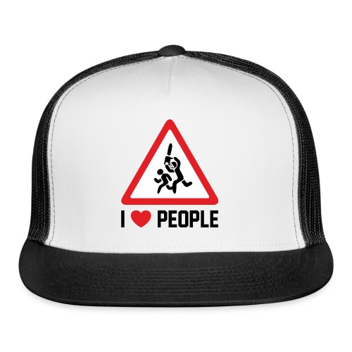 I Love People - Trucker Cap